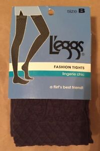 LEGGS Fashion TIGHTS Size: B (SMALL - MEDIUM) New SHIP FREE Lingerie Chic Flirt