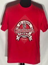 Vintage 1991 St. Louis Cardinals MLB Baseball Team Starter Large L Red T-shirt