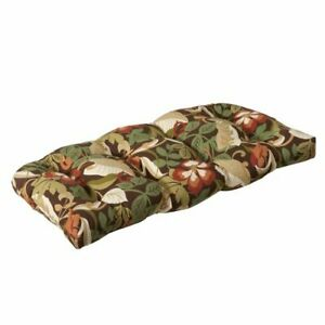 Pillow Perfect Outdoor/Indoor Coventry Café Tufted Loveseat Cushion 1 Count P...