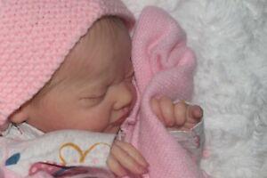 (Relaxing With My Reborns Nursery) Reborn baby girl Evin by Elisa Marx