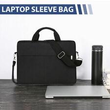 """13"""" 14'' 15.6""""Laptop Handbag Sleeve Case Bag Shockproof Waterproof Durable Black"""