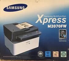 Samsung Xpress M2070FW Wireless Monochrome Laser Printer Scan Copy Fax NFC WiFi