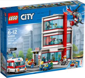 LEGO 60204 NEUF - L'hôpital LEGO® City - City