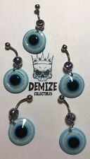 5x Belly Bars All Seeing Eye Blue Resale Job Lot Bundle #33