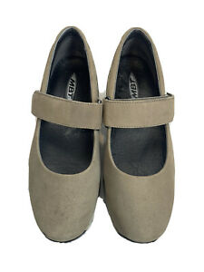 MBT Mary Jane Brown 400282-125 Toning Walking Shoes Size 7 - 7.5