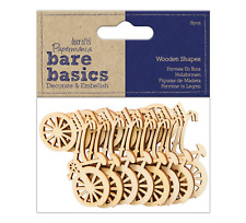 Bicycles - Wooden Shapes - 8pc - Bare Basics