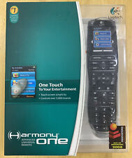 New! Logitech Harmony One Advanced Universal Remote Touchscreen Factory Sealed !