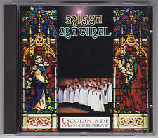 MISSA MATINAL - ESCOLANIA DE MONTSERRAT  CD 1994/ CD FAST NEUWERTIG! NEAR MINT!
