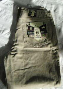 Herren Jeans, Camargue, Gr. 40/34 =56, Beige, Neu, Winterjeans