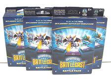 LOT OF 5 Skylanders Battlecast 22 Card Battle Pack Mobile Game