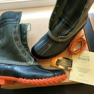 (Size 9) L.L. Bean x Todd Snyder Bean Boots Olive Green Bison Leather SOLD OUT