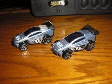 Lot of 2 HW McD McDonld's IRL INDY Exotic Off Road Race Cars w/ Pull Back Action