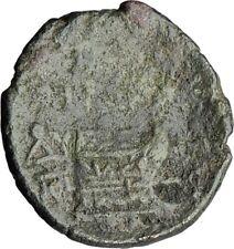 AMPHIPOLIS in MACEDONIA 95BC RARE R1 Ancient Greek Coin JUPITER GALLEY i63842