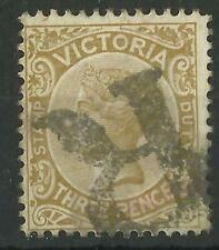 AUSTRALIA / VICTORIA QV 1885 3d USED