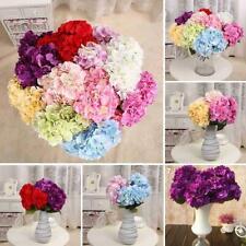5 Heads Wedding Artificial Hydrangea Silk Flower Home Party Bouquet Decor