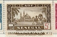 Senegal 1935-40 Early Issue Fine Mint Hinged 5F. 193298