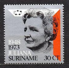 Suriname - 1973 Silver Jubilee Queen Juliana Mi. 654 MNH