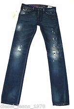 DIESEL SHIONER 74Y JEANS 29X34 100% AUTHENTIC SKINNY FIT TAPERED 0074Y