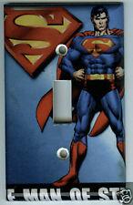 Superman Light Switch Plate Cover Marvel Comics