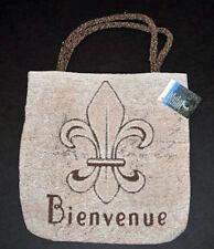 Fleur de Lis ~ Fleur de Bienvenue Tapestry Tote Bag