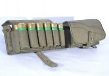 Cartridge Shotgun Belt Carrier Holder 24 Shells Ammo Pouch Leather 12GA Multi