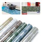 2m Kitchen Mosaic Wall Waterproof Sticker Aluminum Foil Self-Adhesive Wallpaper