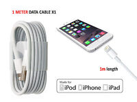 APPLE iPHONE SE 5S 5C 5-Fast UK Wall Charger/Apple Sync USB Data Transfer Cable