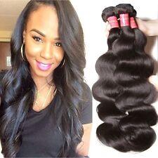 Ali Julia Hair Brazilian Virgin Body Wave 3 Bundle 12 14 16 Natural Black Yilian