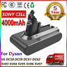 4.0AH 21.6V V6 BATTERY FOR Dyson DC58 DC59 DC61 DC62 Animal SV03 SV05 SV06 SV09