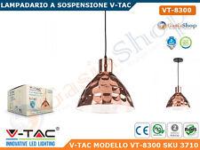 V-TAC VT-8300 LAMPADARIO IN METALLO CROMATO CON PORTALAMPADA PER LAMPADINE E27