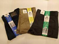 New Mens English Laundry Straight leg 5-Pocket Comfort Stretch waistband variety