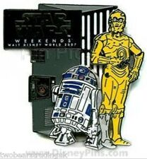 WDW Star Wars Weekends 2007 - R2-D2 and C-3PO Pin