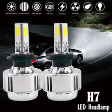 H7 LED HID Conversion Kit 90W Combo Headlight High 6000K All-In-One 3-Side Kit