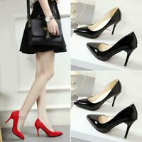 Women Shoes Pointed Toe High Heels Pumps Stilettos Court Shoes Ladies Work Party