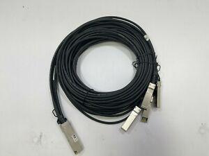JG331A - HPE FlexNetwork X240 40G QSFP+ to 4x10G SFP+ 5-Metre DAC Cable