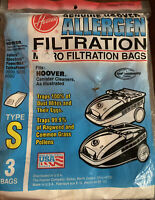Genuine Hoover Allergen Filtration Bags For Canister Cleaners