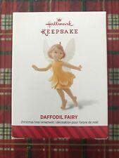 2014 Hallmark Keepsake Ornament Daffodil Fairy 10th In Series  NIB