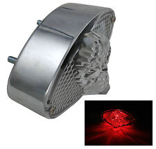 NEW 3D SKULL CUSTOM MOTORCYCLE MOTORBIKE STOP BRAKE / REAR TAIL LIGHT UNIT
