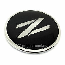 JDM Nissan 90-96 300ZX Fairlady Z Z32 Black & Silver Z Emblem Badge Genuine OEM