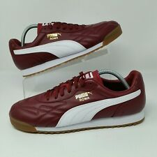 *NEW* Puma Roma Anniversary (Men Size 11.5) Casual Leather Sneaker Shoes Maroon