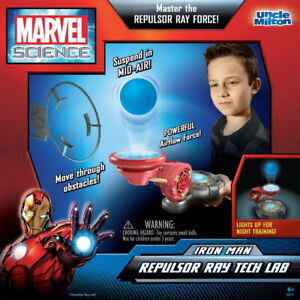 Marvel Science Uncle Milton Iron Man Repulsor Ray Tech Lab ~ NEW SEALED ~ sc