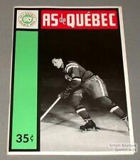 1963-64 AHL Quebec Aces Program Ed Hoekstra Cover