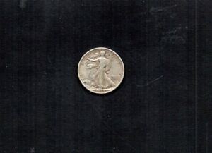 UNITED STATES 1935-S WALKING LIBERTY 50 CENTS. 90% SILVER. NICE CIRCULATED COND.