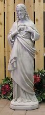 "34"" Sacred Heart Of Jesus Christ Latex Fiberglass Production Mold Concrete"