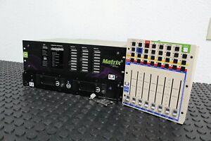 Meyer Sound LX-300 Matrix 3 Processor with Storage Array & Mixer