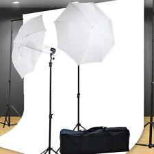 Photo Studio Kit Lighting kit 400 Watt Video Photography Portrait Lighting Ki...