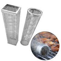 Stainless Steel BBQ Barbecue Wood Pellet Mesh Tube Cold Smoker Pipe Generator