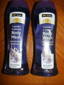 DG Lavender Jasmine Body Wash 16 fl. oz. X 2 (compare to Dial)