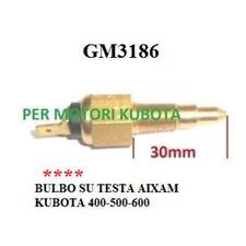 BULBO INDICATORE TEMPERATURA ACQUA SU TESTA AIXAM KUBOTA GM3186