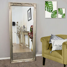 Large Vintage Antique Sliver Style Shabby Chic Leaner Wall Mirror Floor Wall